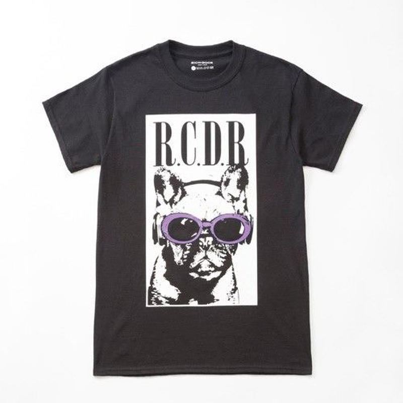 FRENCH BULL×KURT TEE「BLACK×PURPLE」