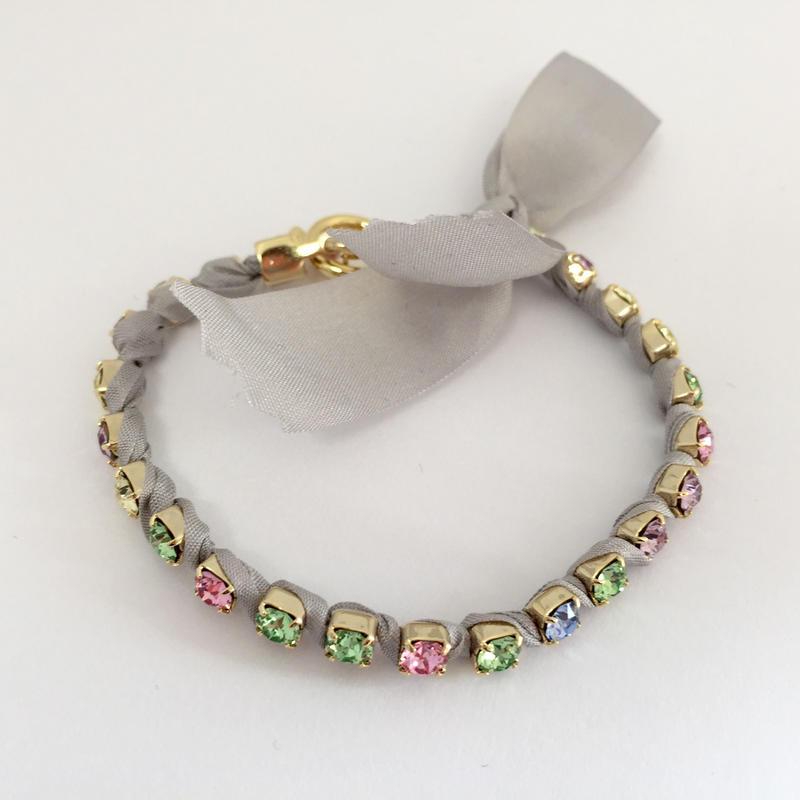 rainbowline ブレスレット レインボーグレー