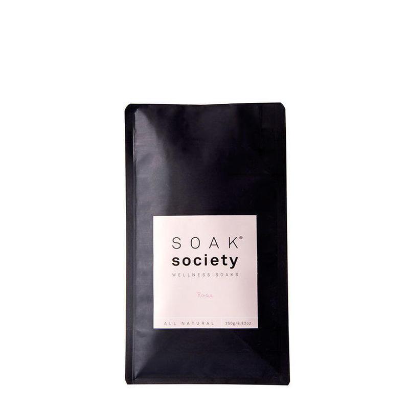 SOAK SOCIETY バスソーク レギュラーサイズ250g ローズ