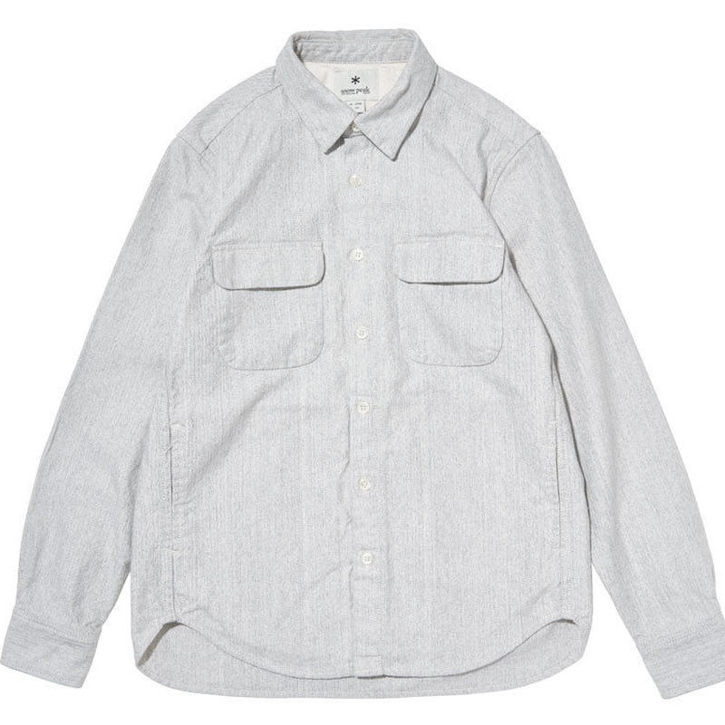 [snow peak] Hand-Dyed Heavy OX Shirt