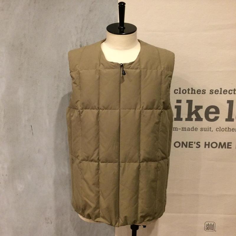 [snow peak] Conceal Down Vest