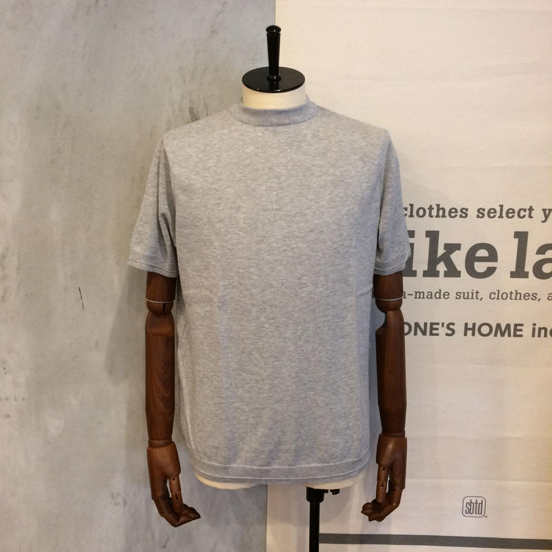 [FUJITO] Mockneck Knit T-Shirt