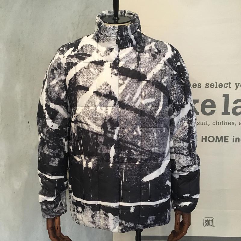 [snow peak] RY Printed Middle Down Jacket