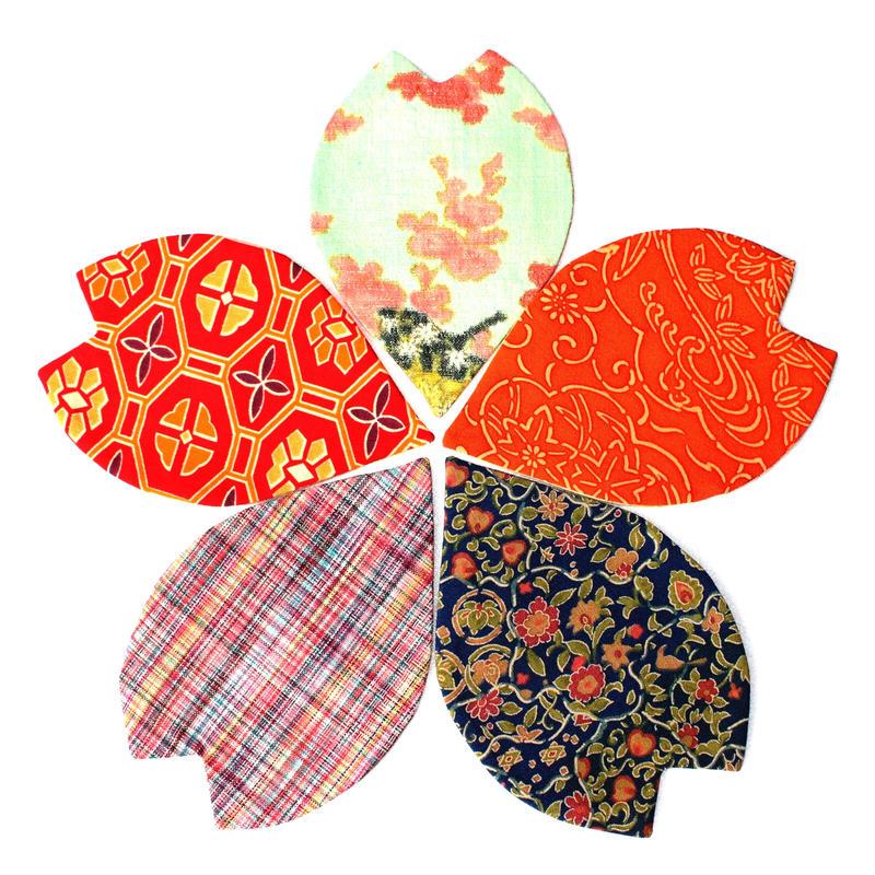 二度と散らないねがい桜 「さくらコースター」5枚セット(クリックポストにて発送)送料無料!