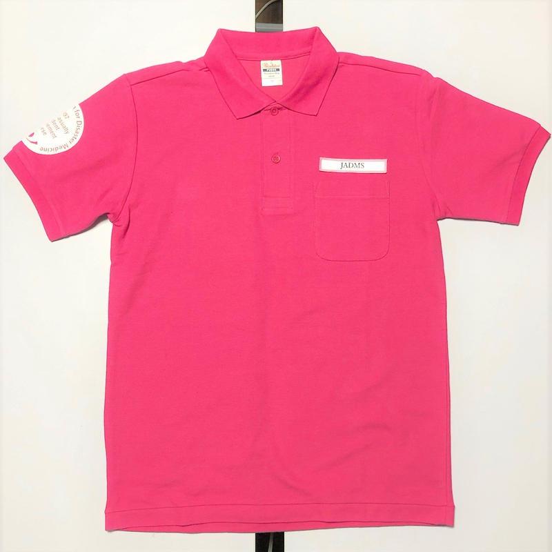 災害医学会セミナー インストラクター ポロシャツ 5.5オンス