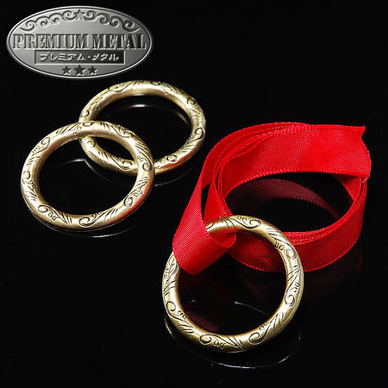 ★手品・マジック★ DPGエリスのリング・真鍮★M7125