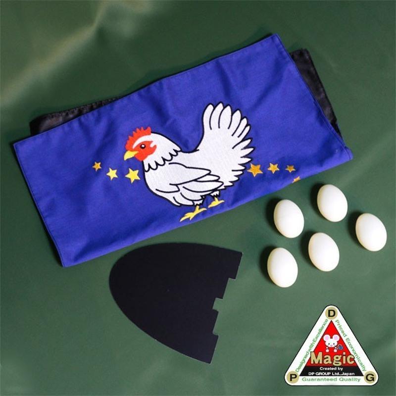 ★手品・マジック★ 鶏と卵(プラ製タマゴ5個セット+?付)★T7163