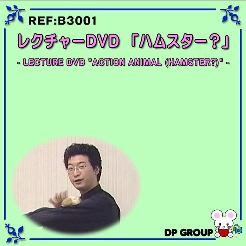 ★手品・マジック★レクチャーDVD「ハムスター?」★B3001