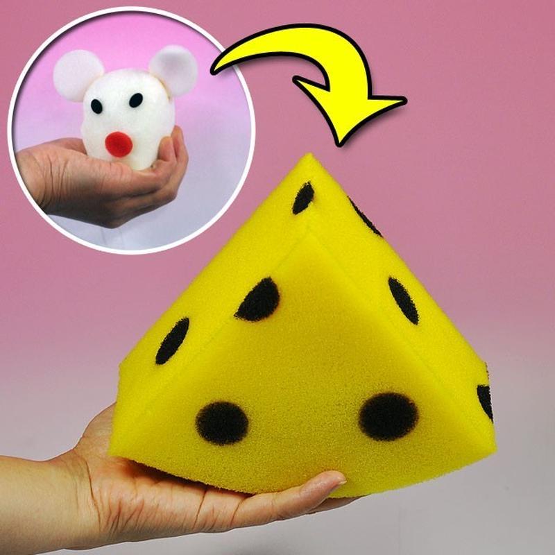 ★手品・マジック★ チーズになるスポンジマウス★U6443