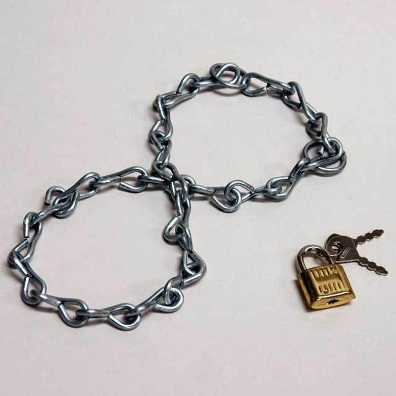 ★手品・マジック★ 鎖手錠★M6811