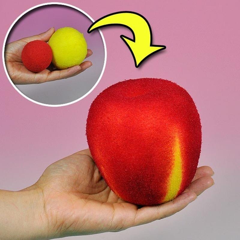 ★手品・マジック★ リンゴになるスポンジボール★U6441