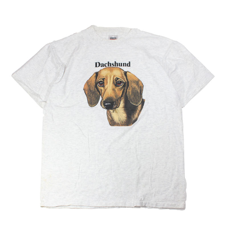 1990s Dog tshirts (Dachshund)
