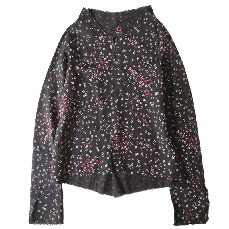 燐シャツ 長袖 〈桜〉