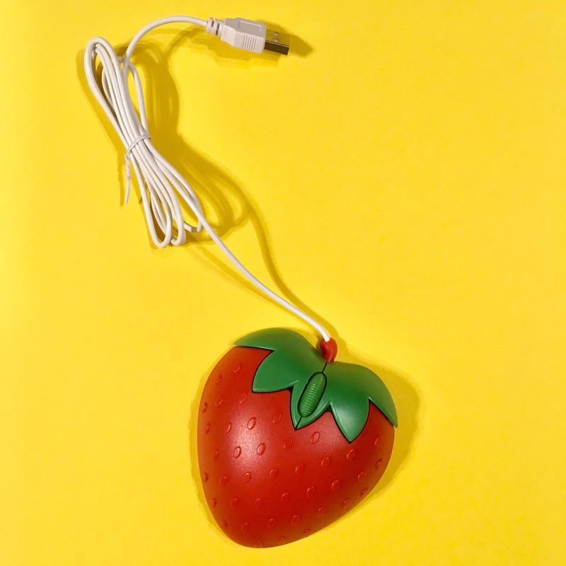 苺マウス  いちご ストロベリー パソコン STRAWBERRY MOUSE