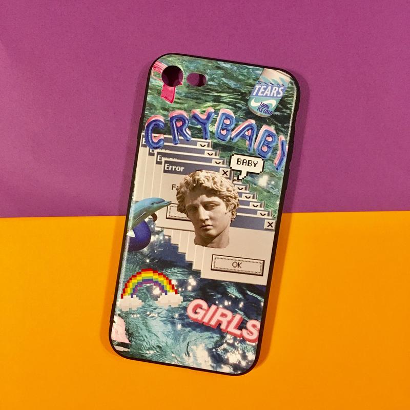 iPhoneケース 7 vaporwave ①