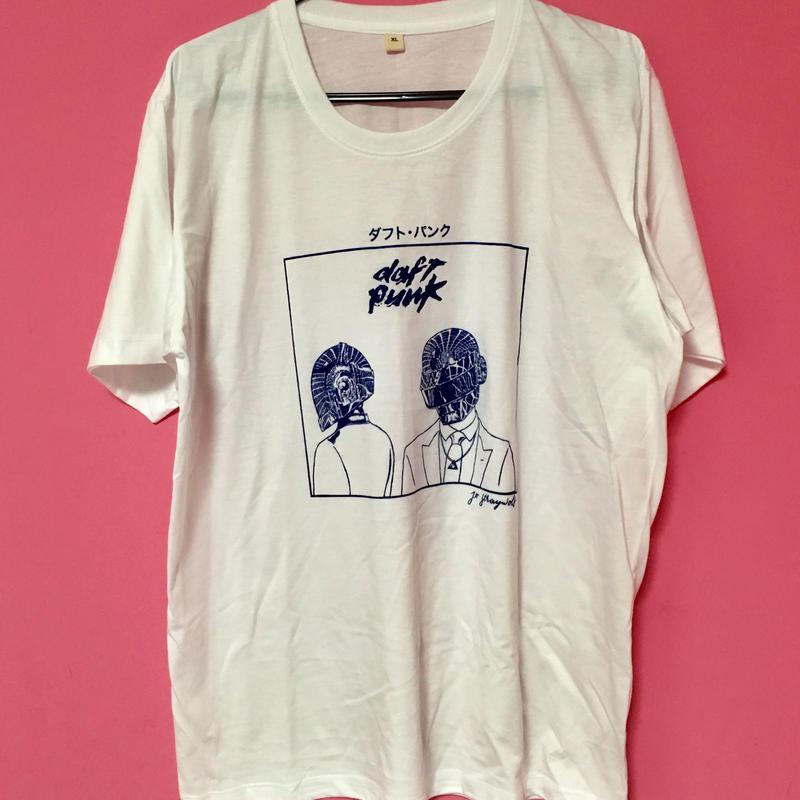 ダフトパンク Tシャツ DAFT PUNK TSHIRT