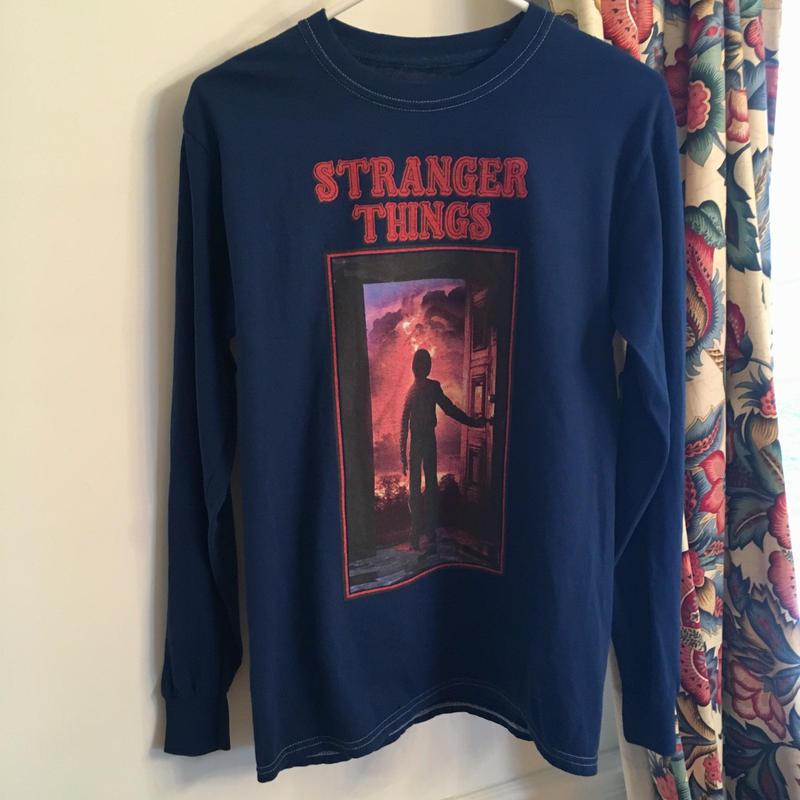 ストレンジャーシングス stranger things 長袖Tシャツ ④