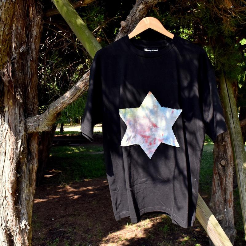 RISKY ×染 0658 BiGt-shirt(六芒星)