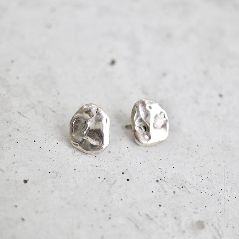 Flow earrings -silver-