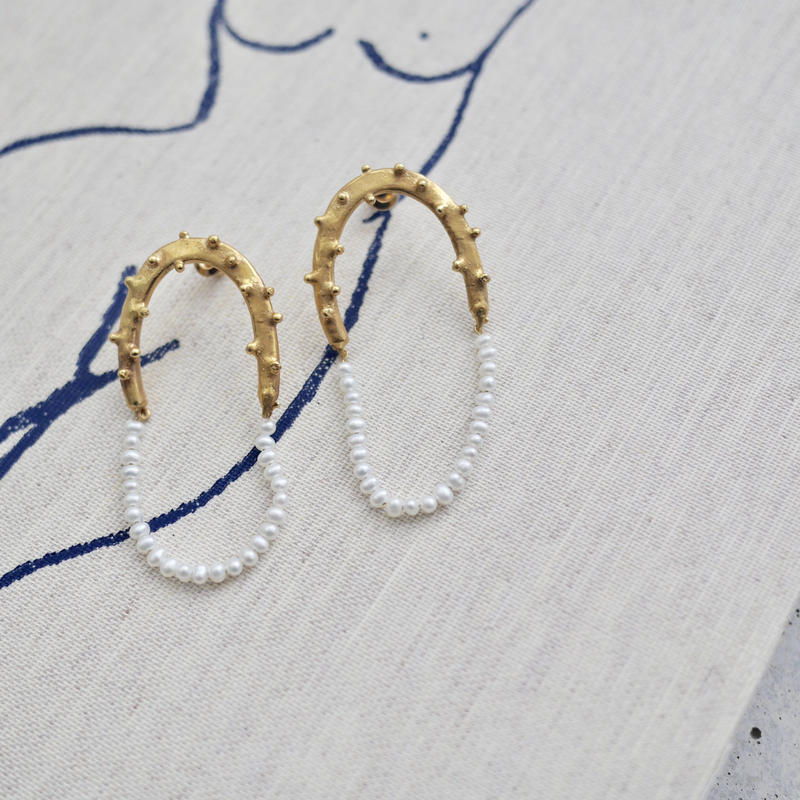 Rain Pearl earrings