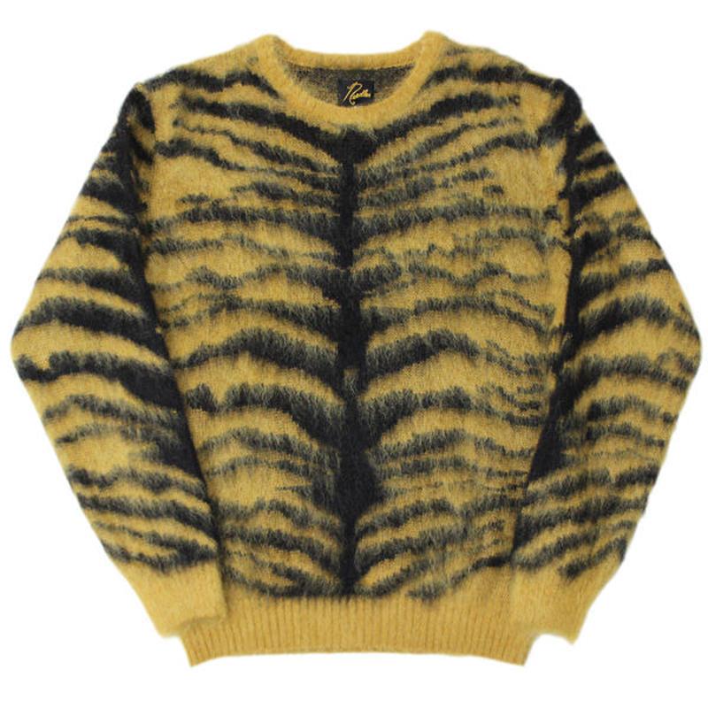 "NEEDLES(ニードルス)""Mohair Sweater - Tiger"""