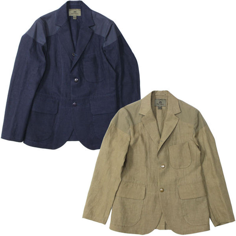 "Nigel Cabourn(ナイジェルケーボン)""MALLORY JACKET HIGH DENSITY/LINEN"""