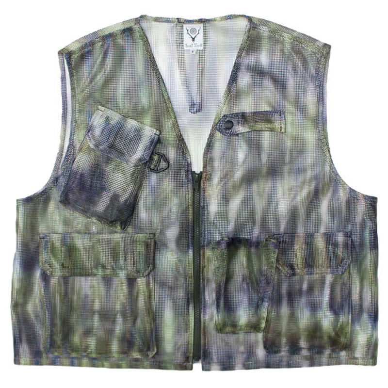 "South2 West8 (サウスツーウエストエイト)""Mesh Bush Vest - Poly Mesh"""