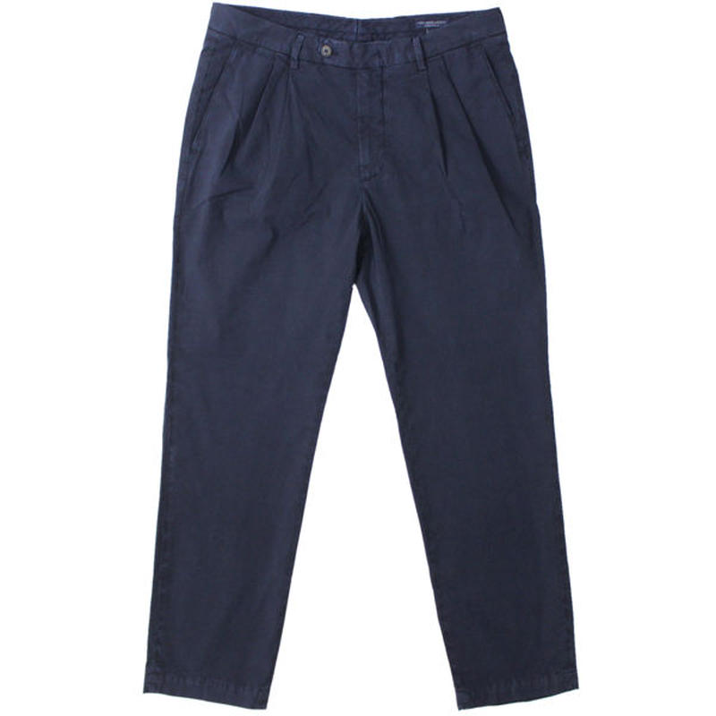 "RICCARDO METHA(リカルド メッサ)""2TUCK TAPERED TROUSER POPO4 [GARMENT WASH]"""