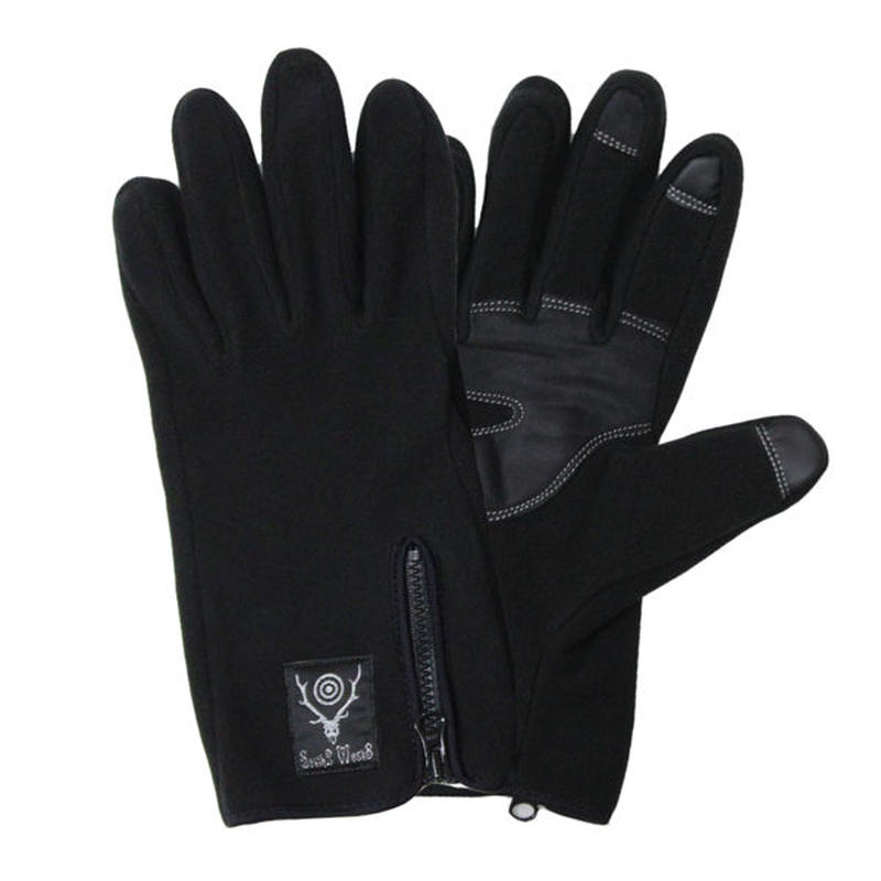 "South2 West8(サウスツーウエストエイト)""Zipped Glove - Polartec / Classic Fleece"""