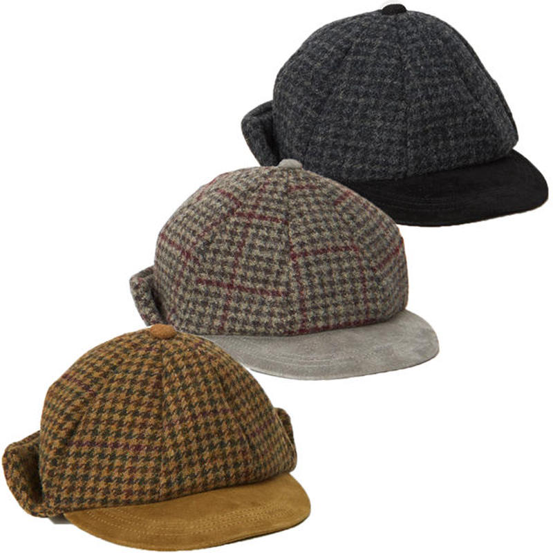 "Hender Scheme(エンダースキーマ)""tweed ear cap"""