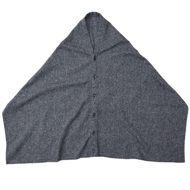 "ENGINEERED GARMENTS(エンジニアードガーメンツ)""Button Shawl - Poly Wool HB"""