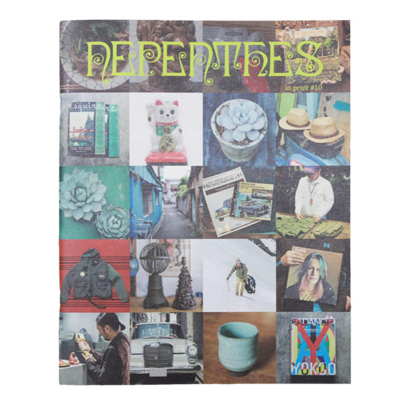 """NEPHENTHES(ネペンテス)""""NEPENTHES IN PRINT #10"""""""