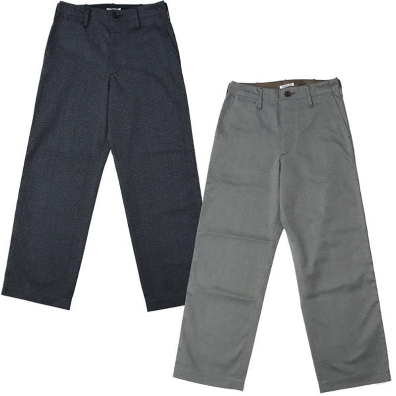 "AURALEE(オーラリー)""WASHED FINX POLYESTER CHINO PANTS"""