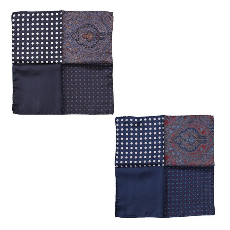 "ENGINEERED GARMENTS(エンジニアード ガーメンツ)""Four Patterns Pocket Square"""