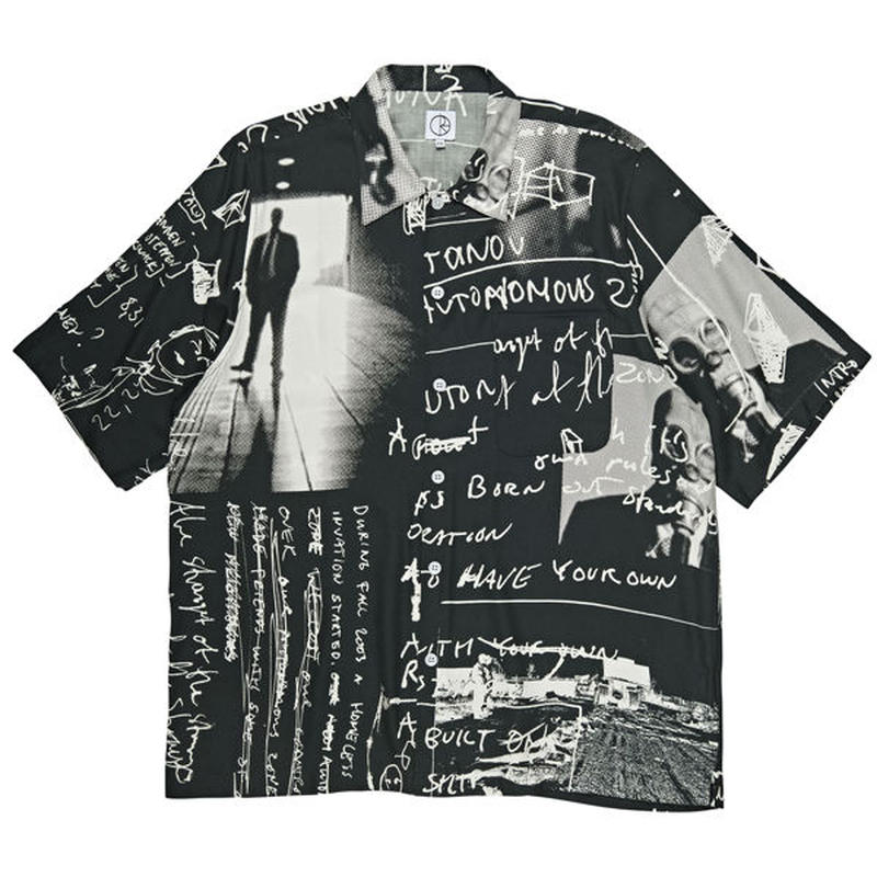 POLAR SKATE CO.(ポーラー スケート カンパニー)Art Shirt - Strongest Notes""