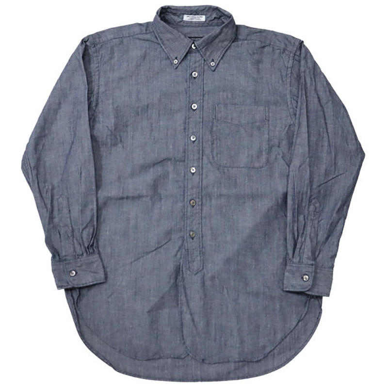 "ENGINEERED GARMENTS(エンジニアード ガーメンツ)""19th BD Shirt - Cone Chambray"""