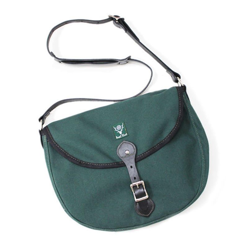 South2 West8 (サウスツーウエストエイト)- 18oz Canvas Binocular Bag Large - HUNTER GREEN