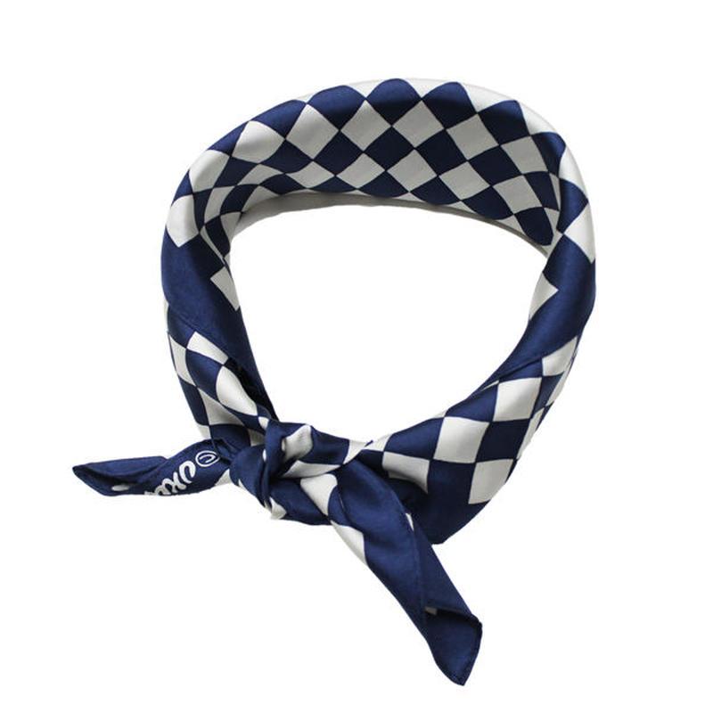 """BLUE BLUE JAPAN(ブルーブルージャパン)""""テガキイチマツ シルク バンダナ"""""""