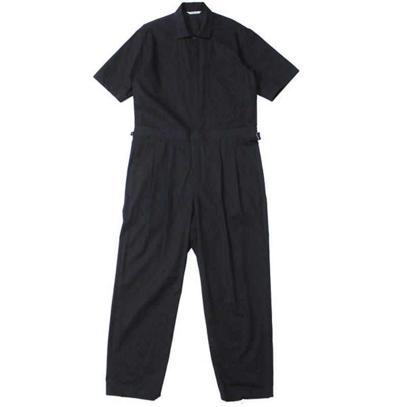 "AURALEE(オーラリー)""WASHED CAVALRY TWILL JUMPSUIT"""