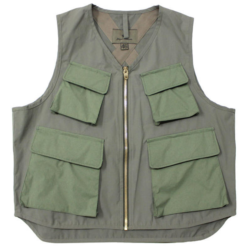 "Nigel Cabourn(ナイジェルケーボン)""ARMY MULTI POCKET V WEATHER CLOTH"""