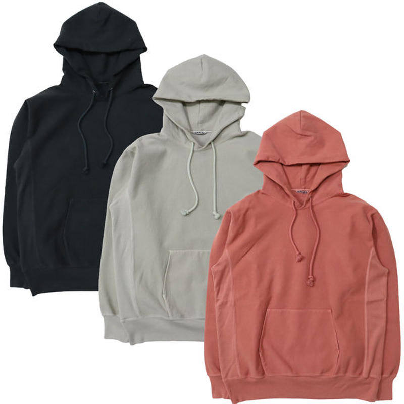 "AURALEE(オーラリー)""SUPER MILLED SWEAT P/O PARKA"""