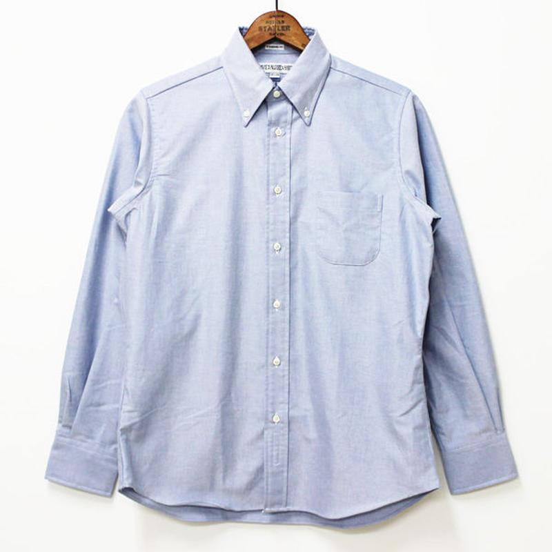 INDIVIDUALIZED SHIRTS(インディビジュアライズドシャツ)- STANDARD FIT L/S -BLUE