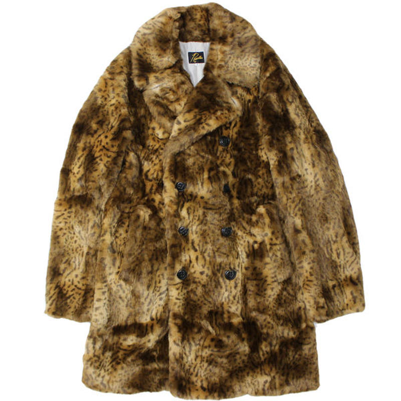 "NEEDLES(ニードルス)""Pea Coat - Acrylic Fur"""
