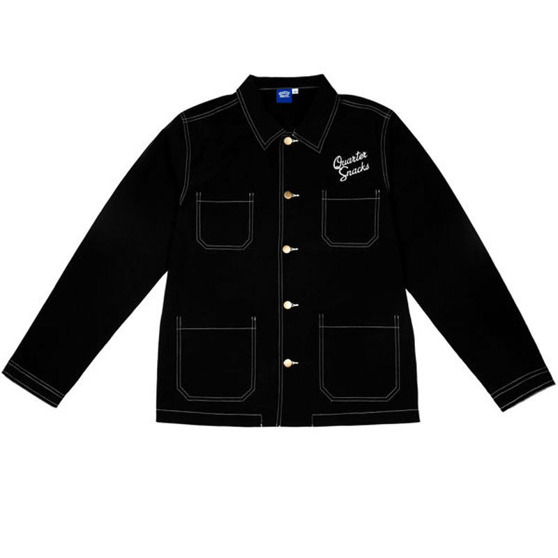 "QUARTERSNACKS(クォータースナックス)""NYLON CHORE JACKET"""