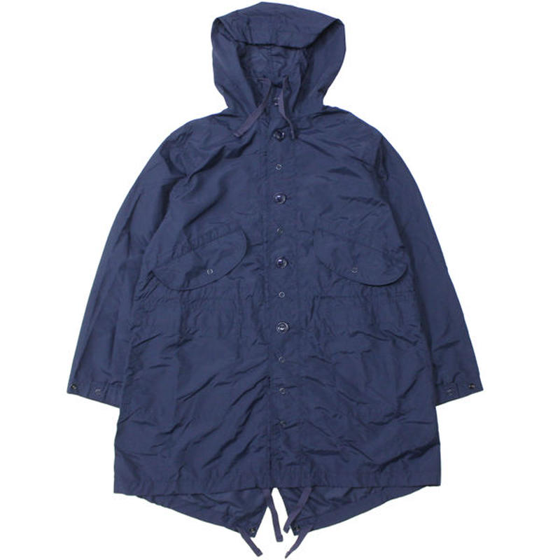 "ENGINEERED GARMENTS(エンジニアード ガーメンツ)""Highland Parka - Acrylic Coated Nylon Taffeta"""