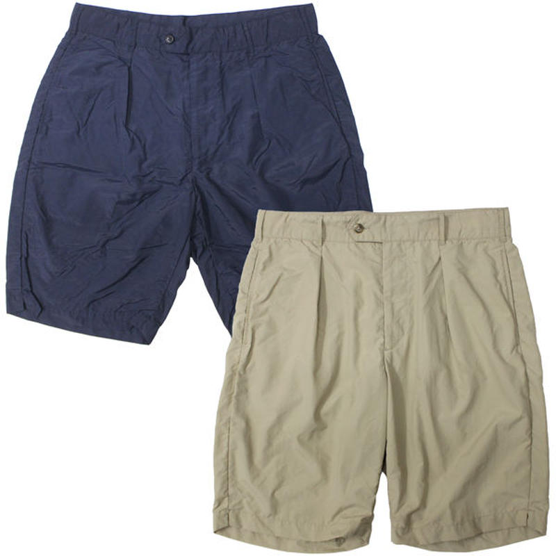 "Engineered Garments(エンジニアードガーメンツ)""Sunset Short - Acrylic Coated Nylon Taffeta"""
