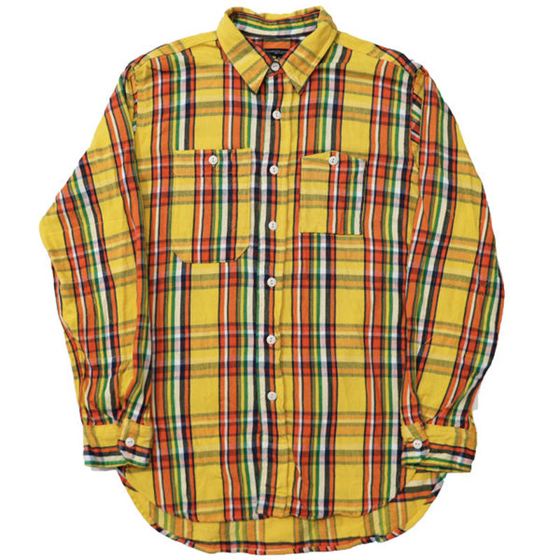 "ENGINEERED GARMENTS(エンジニアド ガーメンツ)""Work Shirt - Twill Plaid"""