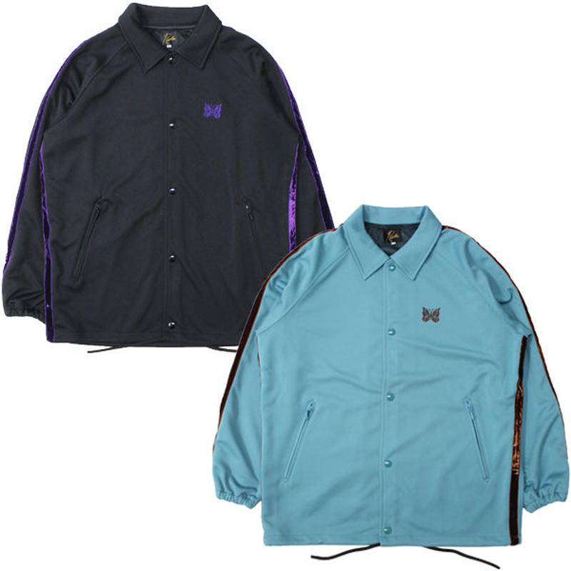 """NEEDLES(ニードルス)""""Side Line Coach Jacket - Poly Smooth"""""""