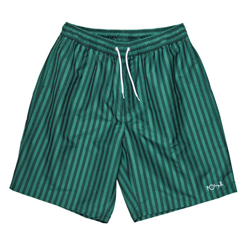 "POLAR SKATE CO.(ポーラー スケート カンパニー)""Stripe Swim Shorts"""