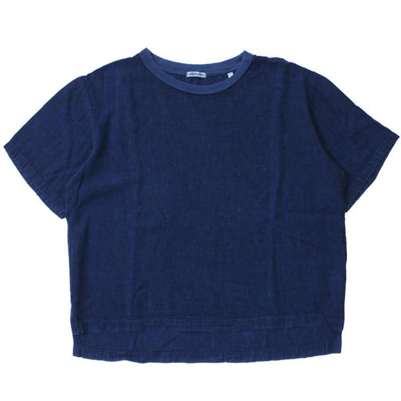 "Ladies' /BLUE BLUE JAPAN(レディース ブルーブルージャパン)""レーヨンリネン テゾメプルオーバーシャツ ウィメンズ"""